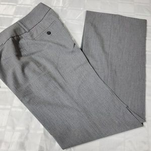LOFT Grey Marisa Fit Trouser sz 4 Pant #1120